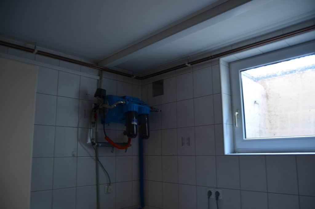 Klet filtriranje vode iz strehe