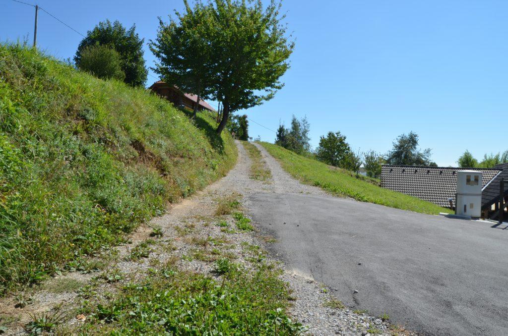 DSC_0190 Goljek 10 pogled na odcep iz lokalne ceste